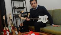 Rafael Atijas. CEO de Loog Guitar. (Archivo El País)