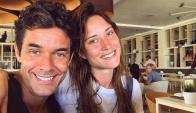 Mariano Martínez y Camila Salazar