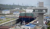 Canal de Panamá. Foto: AFP