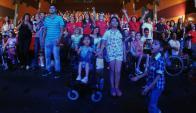 Se llevó a cabo una nueva jornada solidaria de Teletón. Foto: Fernando Ponzetto.