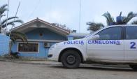 La Policía de Canelones se enfrentó ayer a tres homicidios sucesivos. Foto: L. Carreño
