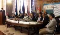 Plenario de Municipios. Foto: Lucía Baldomir