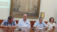 Conferencia de Prensa. Foto del El Heraldo.
