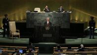 """Vázquez reivindicó a Uruguay como """"líder mundial"""" en la lucha contra el tabaquismo. Foto: Reuters"""