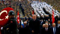 Recep Tayyip Erdogan, presidente de Turquía. Foto: Reuters.