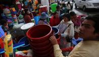 Sequía en Bolivia. Foto: EFE