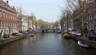 Los clásicos canales de Ámsterdam serán circulados por barcos robot. Foto: Pixabay