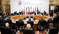 Reunión del G7 en Japón. Foto: Reuters