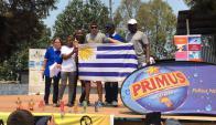 Julio Delly González conquistó el triatlón de Goma en el Congo.