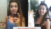 Mara Ariadna Cortinez, joven mendocina desaparecida. Foto: La Nación
