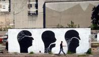 Graffiti. Foto: David de la Mano.