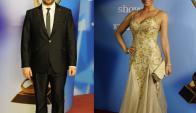 Martín Sarthou y Claudia Fernández, los más elegantes del 2014