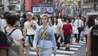 Shoshanna se muda a Japón y el aparentemente insulso personaje comienza a florecer. Foto: Difusión.