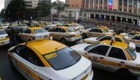 Taxistas: también han admitido que Uber aceleró discusión sobre su servicio. Foto: F. Ponzetto