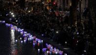 A un año de la tragedia, Paris conmemoró los atentados. Foto: Reuters