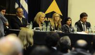 Directorio de Ancap y Cosse presentaron resultados parciales del ente. Foto:D. Borrelli