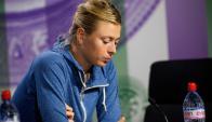 Maria Sharapova no pudo con la portuguesa Michelle Lacher