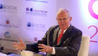 PPK. El presidente peruano no le pone fecha al ingreso a la OCDE. Foto: EFE.