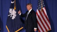 Donald Trump llega también como favorito a Carolina del Sur. Foto: AFP