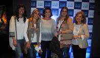 Stella Pacheco, Matilde Cabrera, Margara Shaw, Carolina Techera, Mabel Rodríguez.