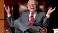 Buffett. Es popular entre masas porque propuso elevar impuestos a los ricos. Foto: Archivo El País.