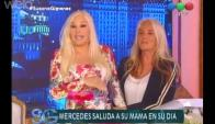 Susana con su hija, Mecha Sarrabayrouse (Foto: captura tv)