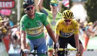 Sagan. Fue el vencedor de la etapa 11 en Montpellier. Foto: EFE