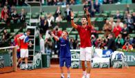 Djokovic está en cuartos de final. Foto EFE