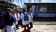 El año pasado se recibieron menos maestros que en 2014. Foto: archivo El País