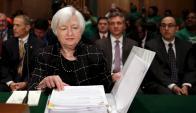 Yellen insistió hace una semana en seguir con el ajuste. Foto: Reuters