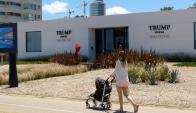Construcción de la Trump Tower en Punta del Este. Foto: Ricardo Figueredo / Archivo El País.