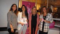 Nathalie Manhard, Victoria Martínez, Cristina Giuria de Berenbau, María Gomensoro.