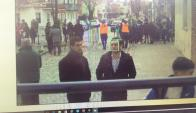Demostración del sistema de cámaras de reconocimiento facial. Foto: @JAldeaOvacion