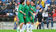 Cacique Medina, Mario Regueiro y Fabián Estoyanoff. Foto: Ariel Colmegna.