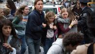 Brad Pitt es la estrella de un film de zombies.