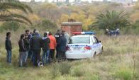 Maracaná: el cuerpo de Dayana Yeyé permaneció ocultado en un pozo. Foto: Telenoche