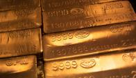 Lingotes de oro. Foto: Reuters