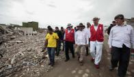 Ecuador busca recuperarse a un mes del terremoto. Foto: EFE.