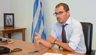 Prosecretario de Presidencia, Juan Andrés Roballo. Foto: Presidencia de la República