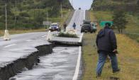 Terremoto en Chile. Foto: AFP