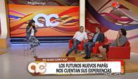 Carballo. Waldo y Piñe en la cumbre de papis (Foto: captura tv)