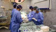 Lustemberg llamó a reducir la cantidad de cesáreas que se hacen, que son 44% de los nacimientos. Foto: Archivo.