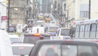 Afirman que la demanda de estacionamientos en Ciudad Vieja está saturada. Foto: D. Borrelli.