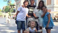 Las vacaciones familiares de Federico Buysan y Cata Ferrand en Europa. Foto: @Buysan