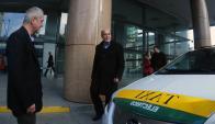 Martínez ordenó adquirir un coche eléctrico para usarlo como auto oficial. Foto: F. Ponzetto