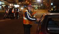 Controles: inspectores destacaron el buen comportamiento general. Foto: A. Colmegna