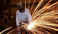 La actividad industrial lleva cinco caídas seguidas. Foto: Archivo