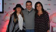 Geraldine Lewi, Carlos Chiarlone, Rossana Ortiz.