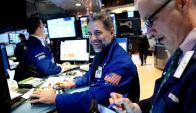 Los operadores de Wall Street no ocultan su alegría. Foto: EFE