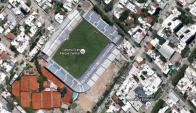 El metro cuadrado de una vivienda a pasos del estadio cuesta US$1.900. Foto: Google Maps